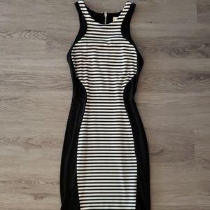 Torn by Ronny KoBo stripe dress